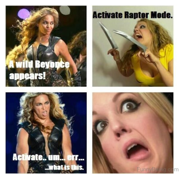 A Wild Beyonce Appears