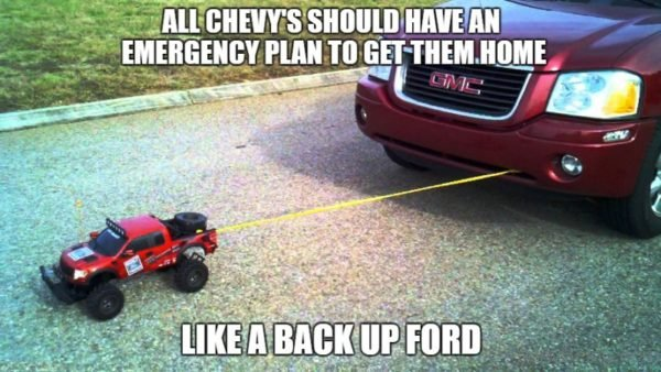 All Chevy's Should Have An Emergency