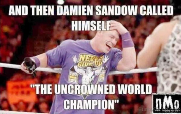 And Then Damien Sandow Called Himself