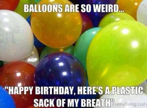 Ballons Are So Weird