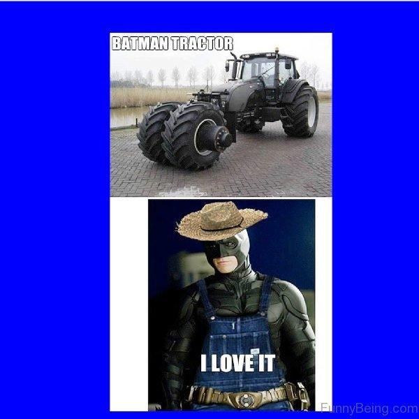 Batman Tractor