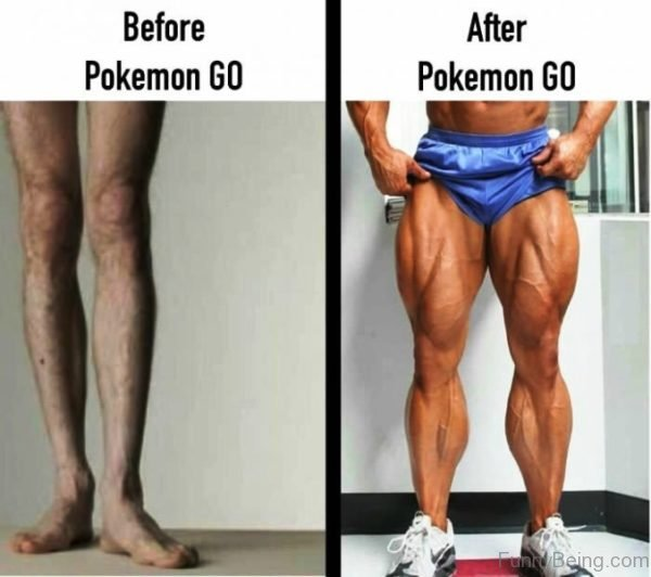 Before And After Pokemon Go