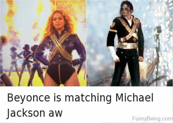 Beyonce Is Matching Michael Jackson Aw