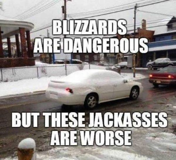 Blizzards Are Dangerous