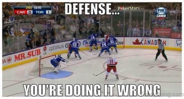 Defense You're Doing It Wrong