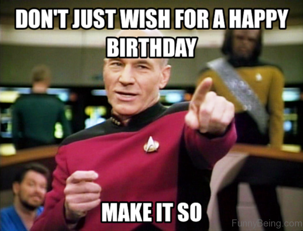 Don't Just Wish For A Happy Birthday