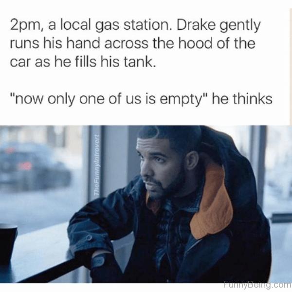 Drake Gently Runs His Hand
