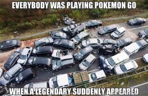 Everybody Was Playing Pokemon Go