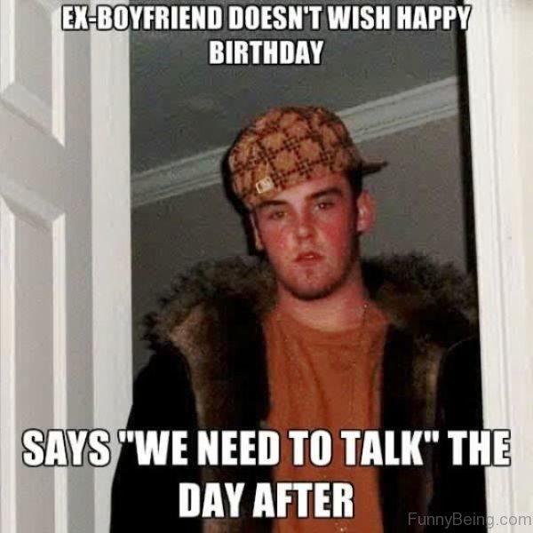 Ex Boyfriend Doesnt Wish Happy Birthday 600x600