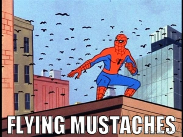 Flying Mustaches