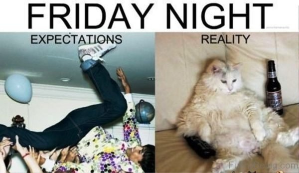 Friday Night Expectations Vs Reality