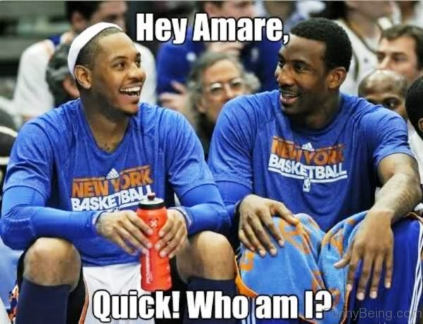 Hey Amare, Quick Who Am I
