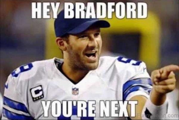 Hey Bradford You're Next