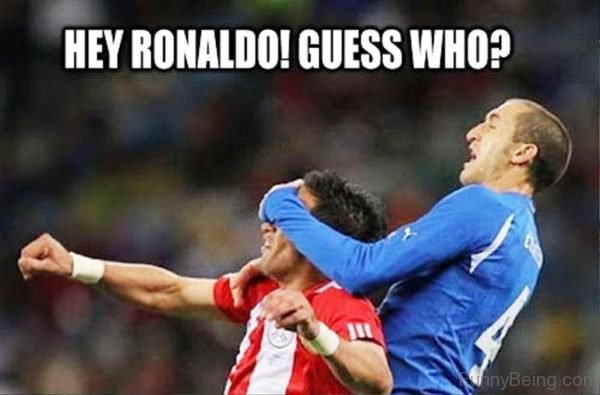 Hey Ronaldo Guess Who