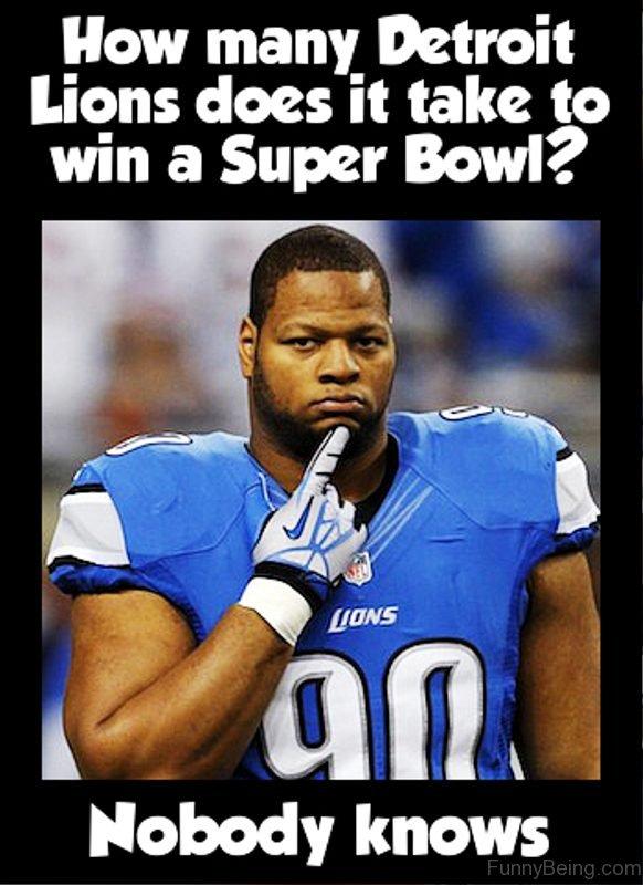 How Many Detroit Lions