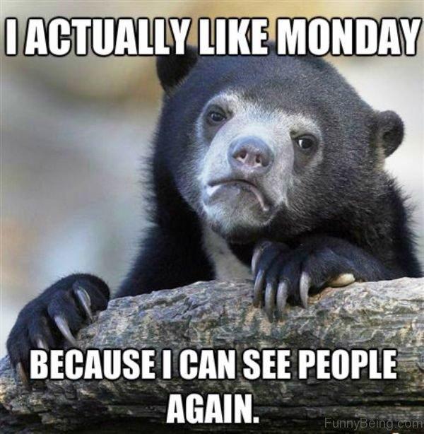 I Actually Like Monday