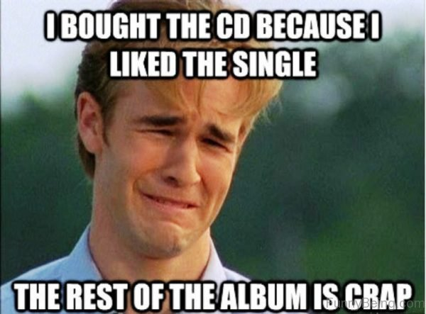 I Bought The CD Because