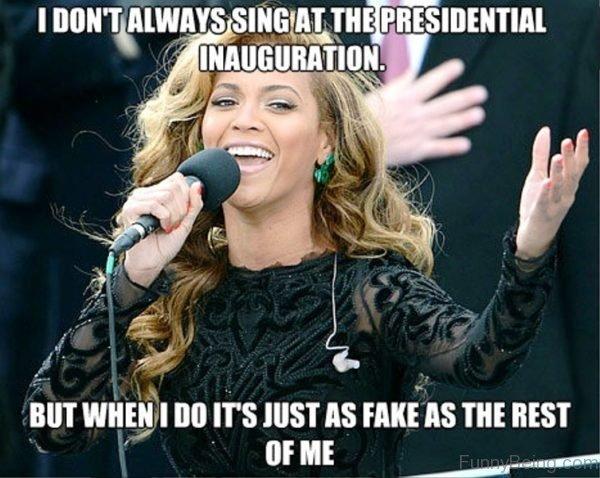I Don't Always Sing