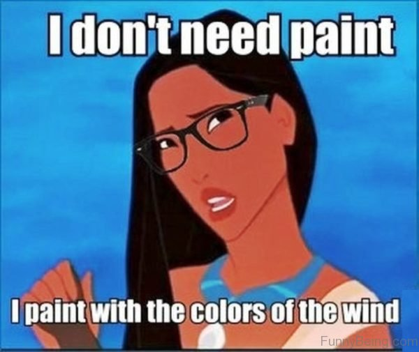 I Don't Need Paint