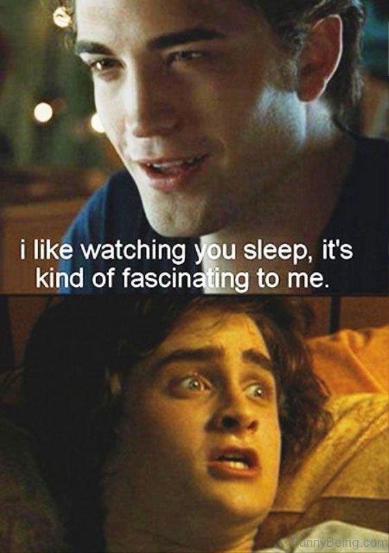 I Like Watching You Sleep