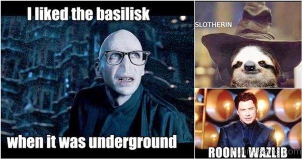 I Liked The Basilisk