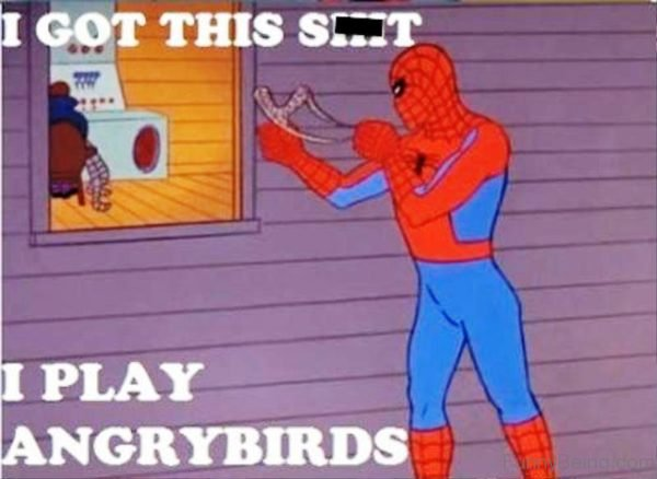 I Play Angrybirds