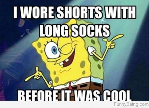 I Wore Shorts With Long Socks
