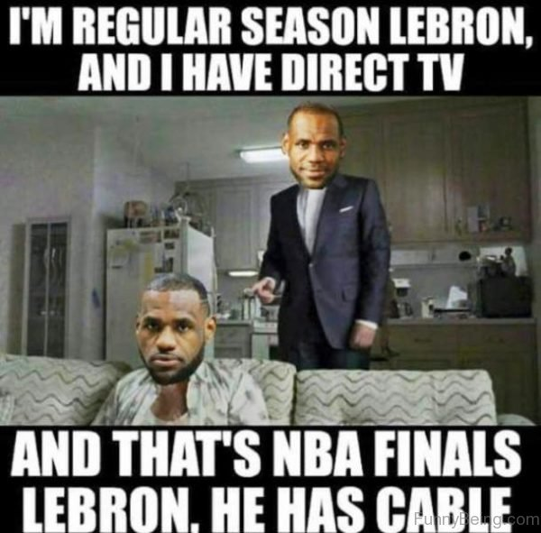 I'm Regular Season Lebron