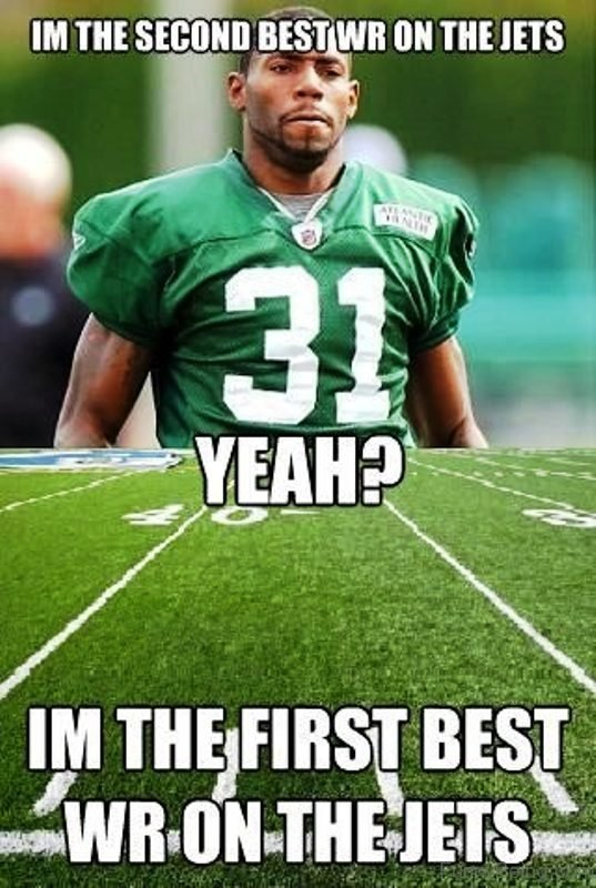 I'm The Second Best WR