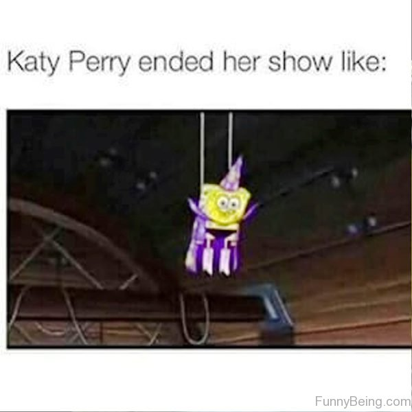Katy Perry Ended Her Show Like