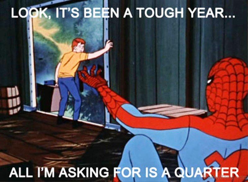 Spiderman meme cancer - photo#44