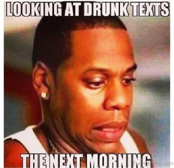 Looking At Drunk Texts