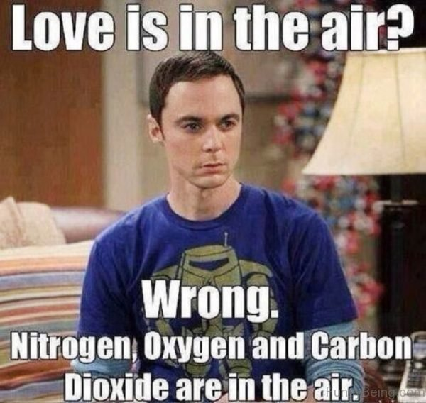 Love Is In The Air Wrong