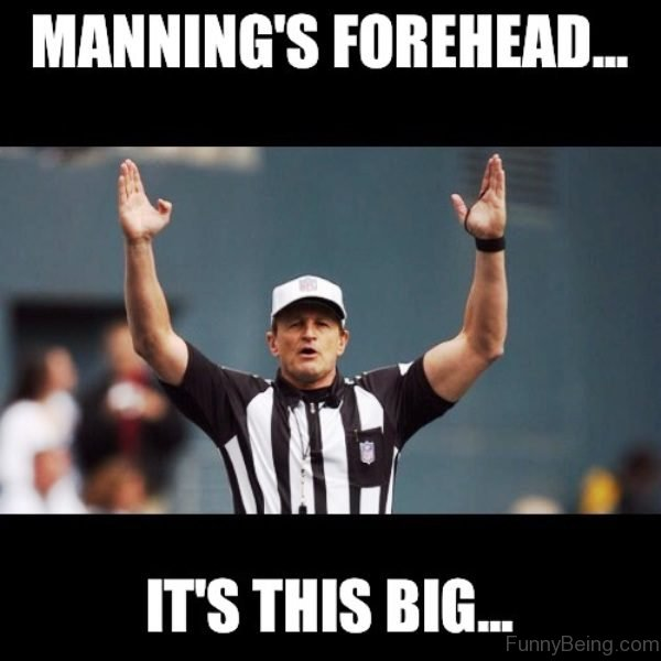 Manning's Forehead