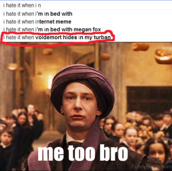 Me Too Bro