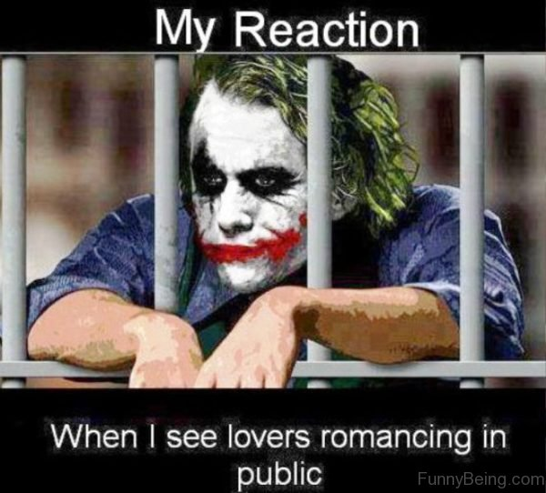 My Reaction When I See Lovers