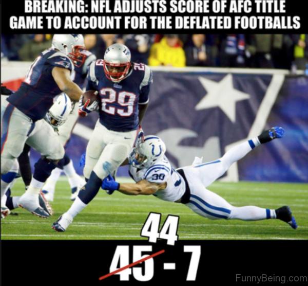 NFL Adjusts Score Of AFC Title