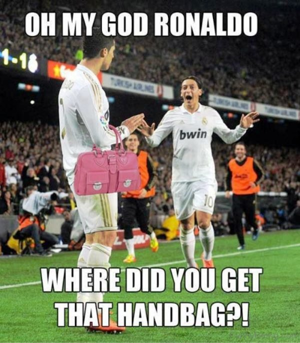 Oh My God Ronaldo