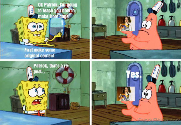 Ok Patrick, I'm Going To Teach You