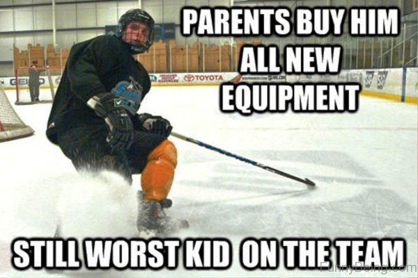 Parents Buy Him All New Equipment