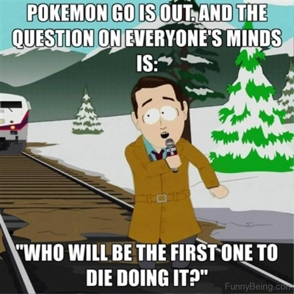 Pokemon Go Is Out