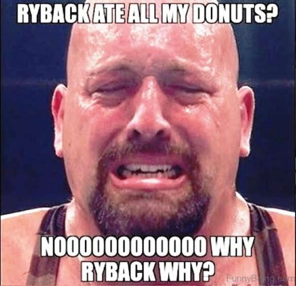 Rayback Ate All My Donuts
