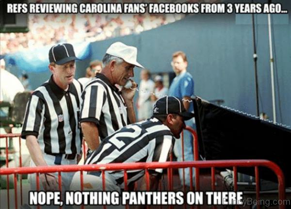 Refs Reviewing Carolina Fans