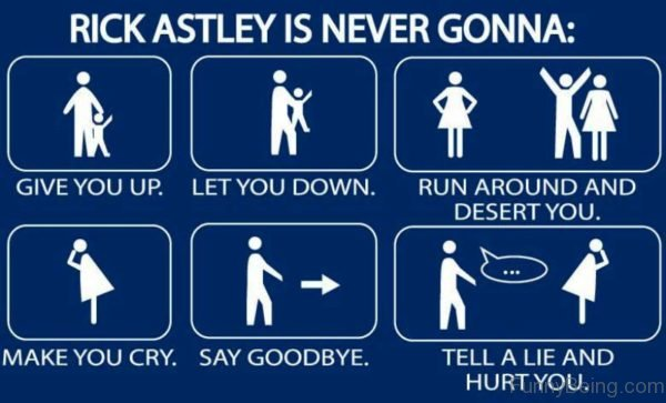 Rickastley Is Never Gonna