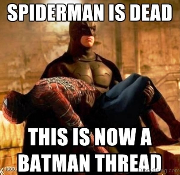 Spiderman Is Dead