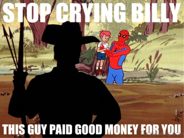 Stop Crying Billy