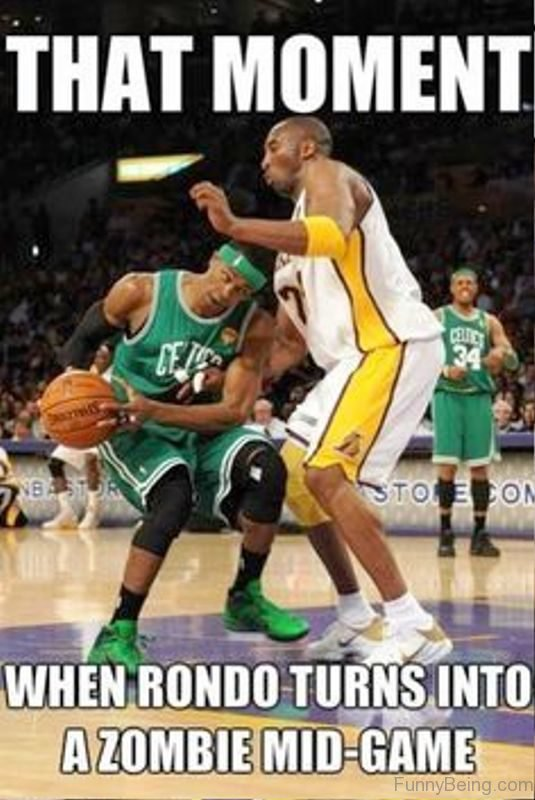 That Moment When Rondo Turns