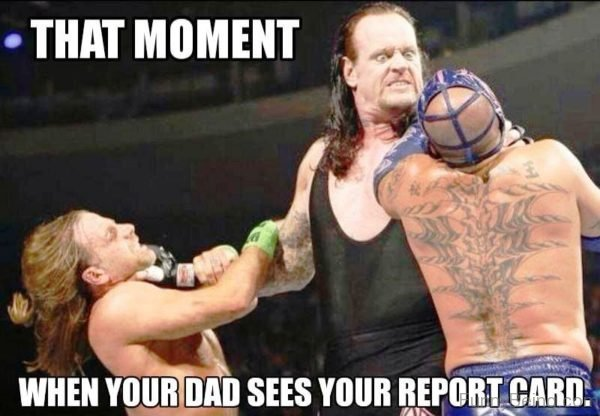 That Moment When Your Dad Sees