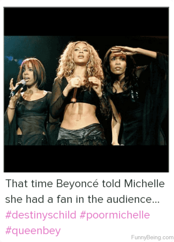 That Time Beyonce Told Michelle