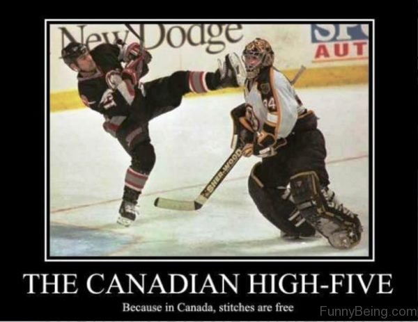 The Canadian High Five